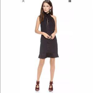 Karen Zambos Helter Black Mini Dress